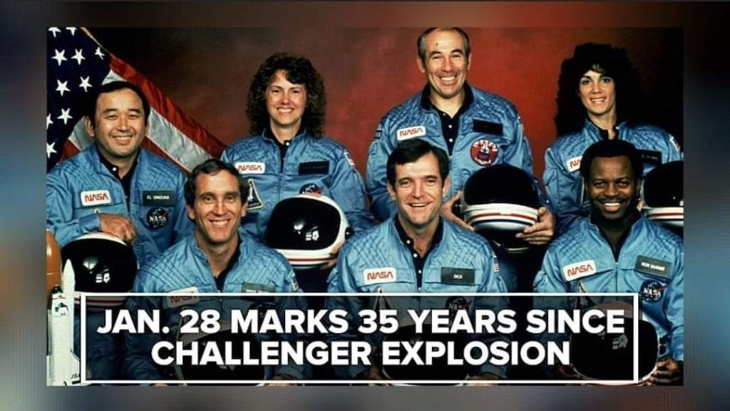 Challenger Crew, 1986